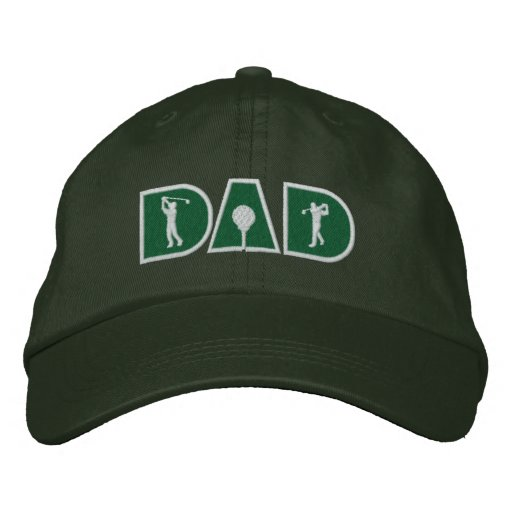 Papá del golf gorras bordadas