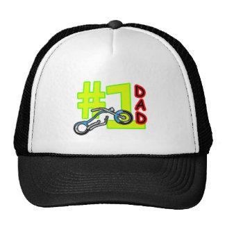 Papá del interruptor del día de padre #1 el regalo gorras de camionero