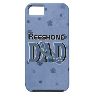 PAPÁ del Keeshond iPhone 5 Case-Mate Protector