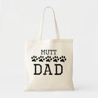 Papá del Mutt (apenado) Bolsa Tela Barata