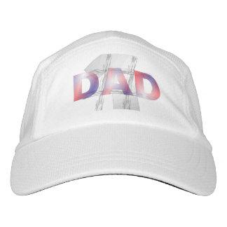 Papá del número uno gorra de alto rendimiento