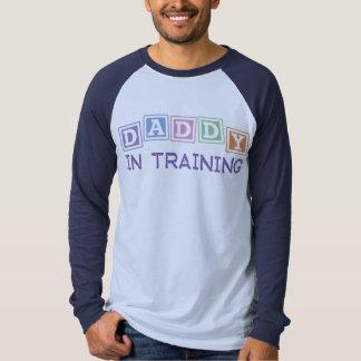 Papá en el entrenamiento camisetas