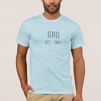 Papá Est. 1984 Camiseta