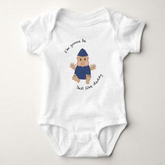Papá experimental body para bebé