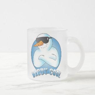Papá fresco taza de café esmerilada