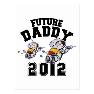 Papá futuro 2012 - padre a ser postal