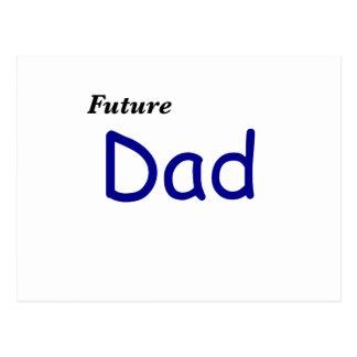 Papá futuro postal