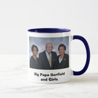 Papá grande Barfield y chicas Taza