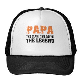 Papá (naranja) gorra