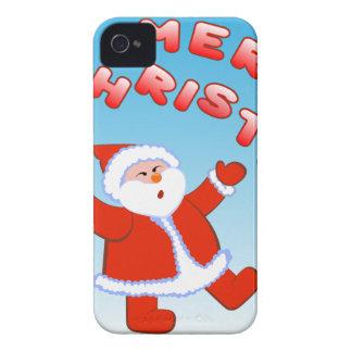 Papá Noel 5 Carcasa Para iPhone 4