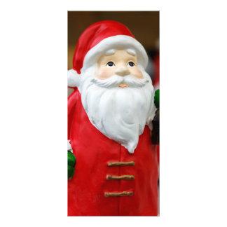 Papá Noel con una decoración del navidad de la Lonas