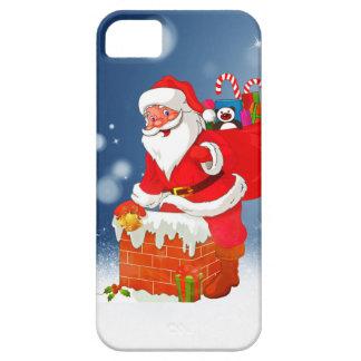 Papá Noel lindo con la estrella de la nieve del Funda Para iPhone SE/5/5s
