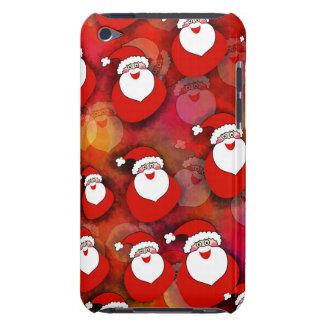 Papá Noel lindo, dulce con los regalos. Navidad Funda Para iPod De Case-Mate