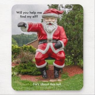 Papá Noel - navidad - días de fiesta - humor Alfombrilla De Ratón
