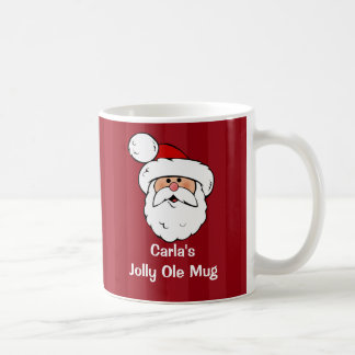 Papá Noel personalizado Taza De Café
