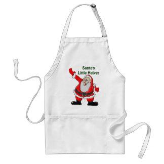 Papá Noel, regalos del navidad del padre Delantales