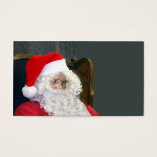 Papá Noel Tarjeta De Negocios