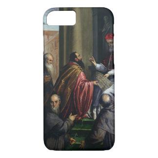 Papa Paulo IV que entrega un estatuto Funda iPhone 7