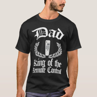 Papá - rey de la camiseta teledirigida