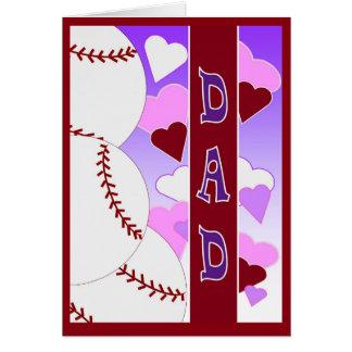 PAPÁ te amo > que usted tarjeta del día de San