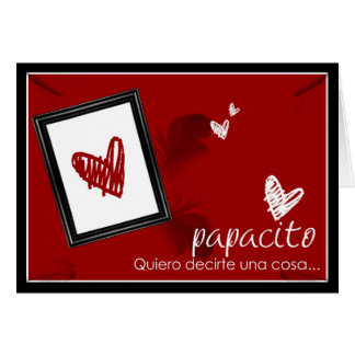 """Papacito"" Tarjeta de Amor"