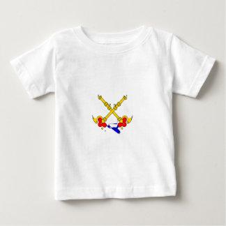Papal-estado-Bandera Camiseta De Bebé