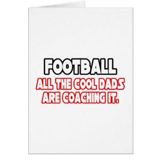 Papás frescos del fútbol… tarjeta de felicitación