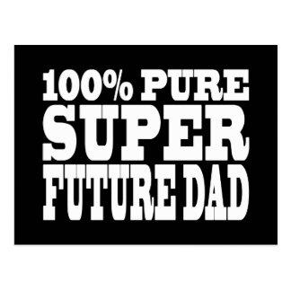 Papás y padres a ser: Papá futuro estupendo puro Postal