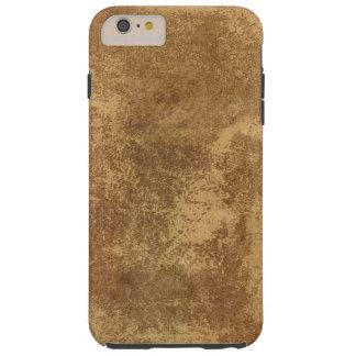 Papel abstracto del oro funda resistente iPhone 6 plus