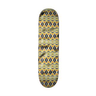 Papel arrugado tribal tablas de patinar