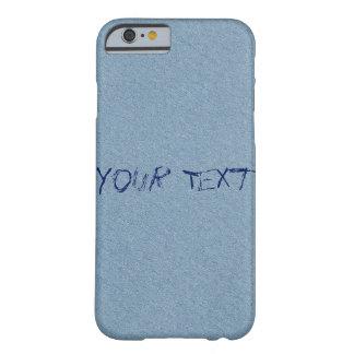 Papel azul con tinta funda barely there iPhone 6