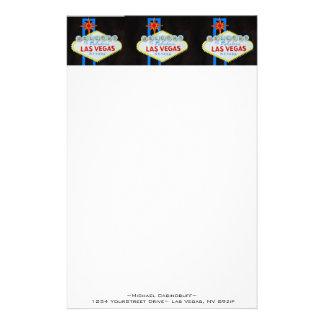 Papel con membrete agradable de Las Vegas Papelería De Diseño