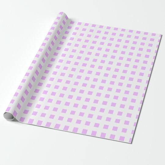 Papel de embalaje blanco del cuadrado de telas