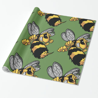 Papel de embalaje brillante de la abeja muy