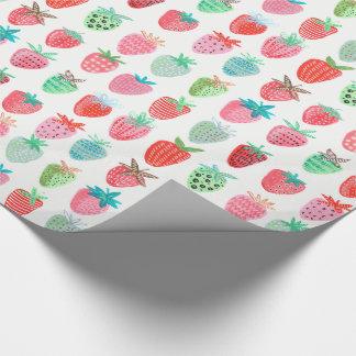 Papel de embalaje brillante de la fruta el | de la