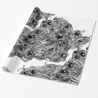 Papel de embalaje clásico de Megadoodle Papel De Regalo