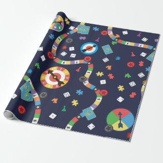 Papel de embalaje colorido del modelo del juego de