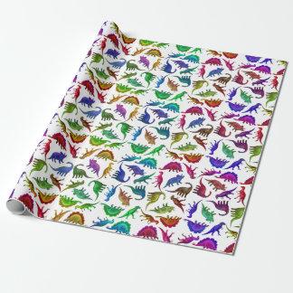 Papel de embalaje colorido fresco de los papel de regalo