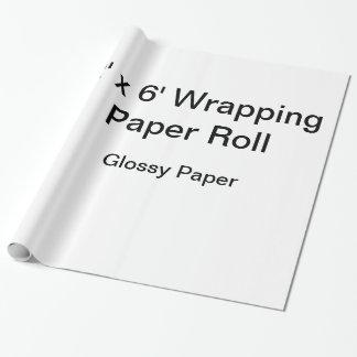 Papel de embalaje de encargo (rollo 2x6, papel