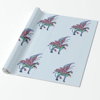 Papel de embalaje de hadas de Pegaso del caballo Papel De Regalo