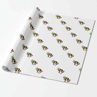 Papel de embalaje de la abeja reina