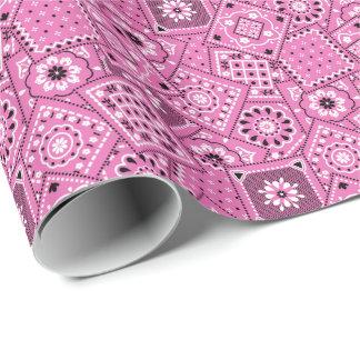 Papel de embalaje de la impresión del pañuelo del