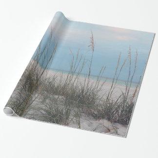 Papel de embalaje de la playa
