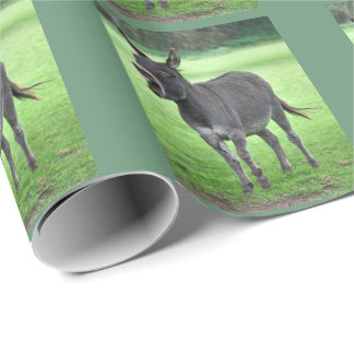 Papel de embalaje de la risa del burro papel de regalo