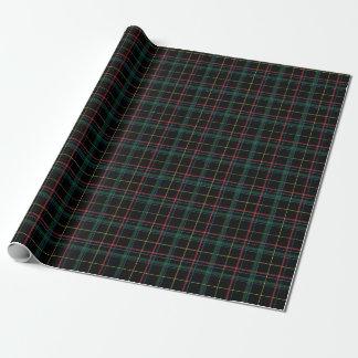 Papel de embalaje de la tela escocesa del día de