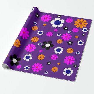 "Papel de embalaje de las flores 30"" x6"