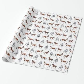 Papel de embalaje de los amantes del caballo