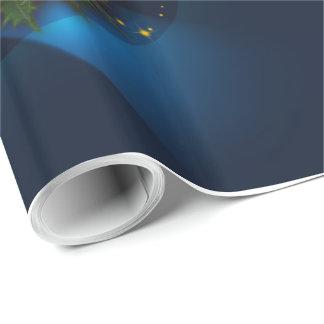 Papel de embalaje de los bulbos del navidad papel de regalo