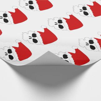 Papel de embalaje de los cráneos/del navidad de papel de regalo
