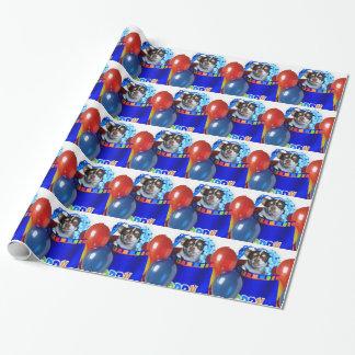 Papel de embalaje de los perros de la chihuahua